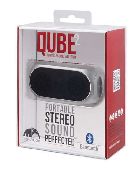 Qube2 wireless Bluetooth speaker | Cool Mom Tech