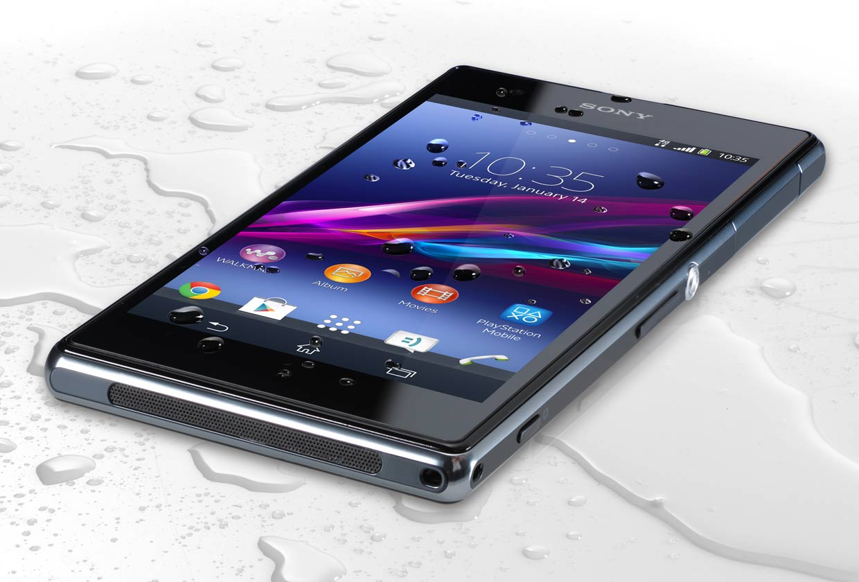 Sony Xperia Z1S: A waterproof mobile phone made for parents