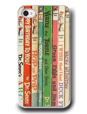 Dr. Seuss vintage book cover mobile phone case | Cool Mom Tech