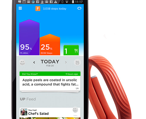 Jawbone UP24 app for Android | Cool Mom Tech