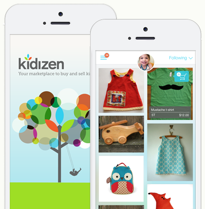 Kidzen app - Childrens' clothing consignment | Cool Mom Tech