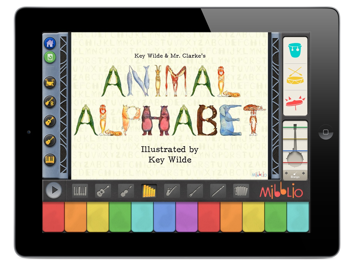 Mibblio: An awesome interactive music app for kids with real star power