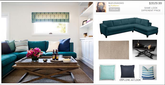 nousDECOR interior design site: living room inspiration | Cool Mom Tech