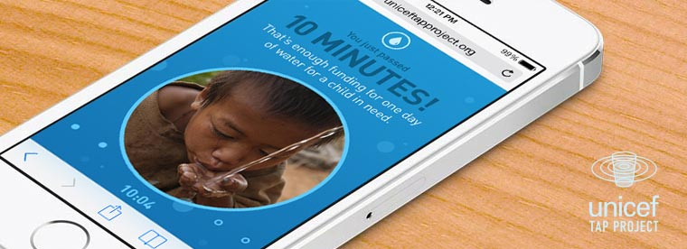 Unicef Tap Project app | Cool Mom Tech