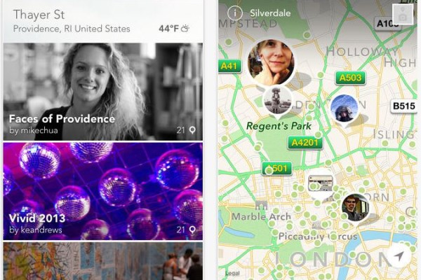 Findery app - social discovery travel app iOS | Cool Mom Tech