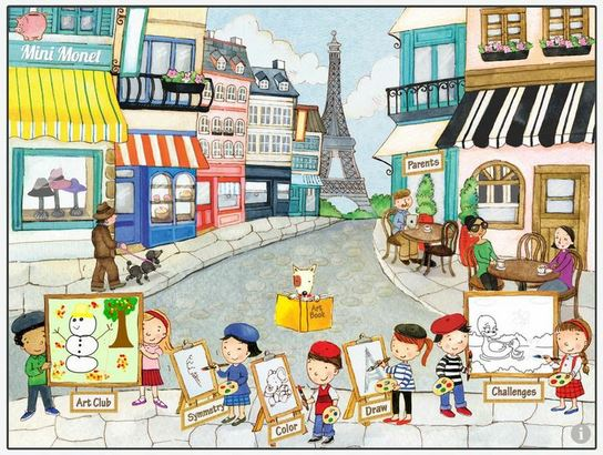 Mini Monet art app for iPad | Cool Mom Tech