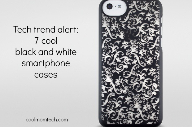 Spring tech trend alert: The coolest black and white smartphone cases