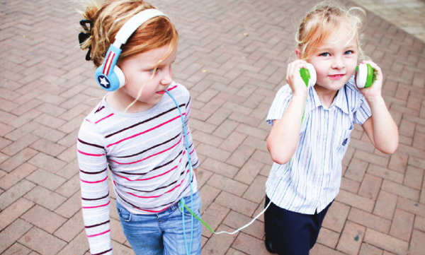 Buddyphones Volume Limiting Headphones for Kids with Splitter | Cool Mom Tech