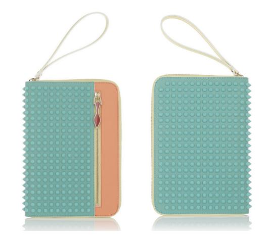 Christian Louboutin iPad clutch | Cool Mom Tech