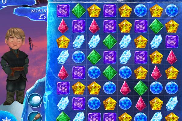Frozen Free Fall Game app | Cool Mom Tech