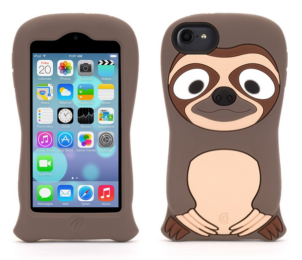 Enter the sloth: The cutest sloth iPhone cases and gadget cases because, sloths.