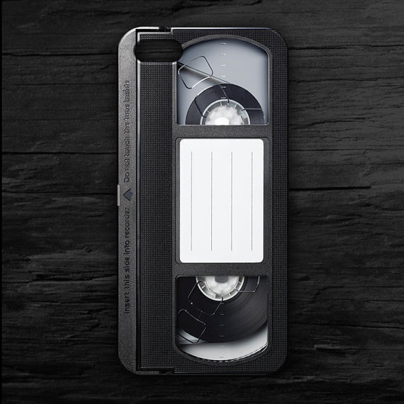 Remember VHS? Retro smartphone cases for old school techies.