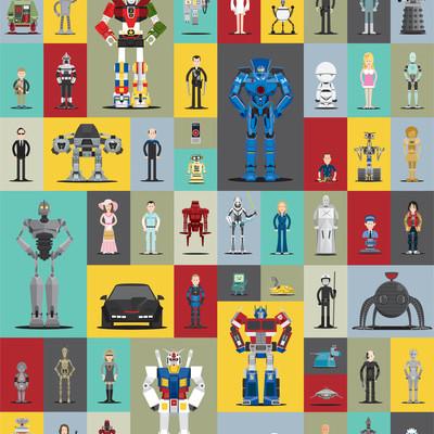 Robot poster -Synthespians by Scott Park | Cool Mom Tech