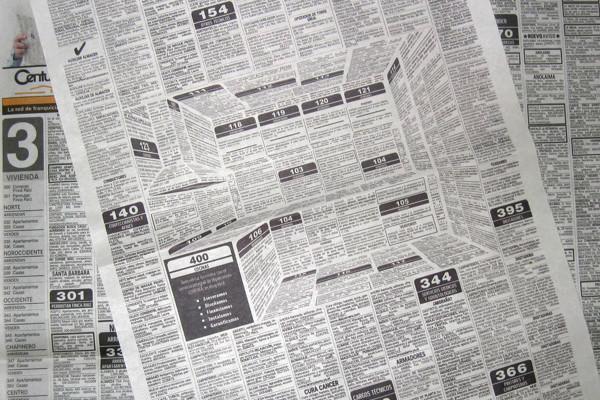 3D Newspaper Ad | Cool Mom Tech