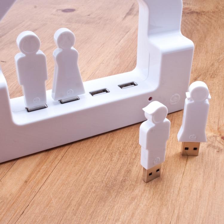 House USB charging hub + USB people | Cool Mom Tech