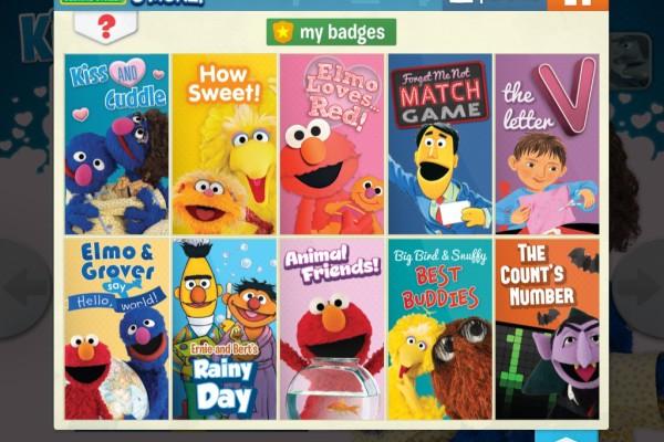 Sesame Street S'More digital magazine app for iPad