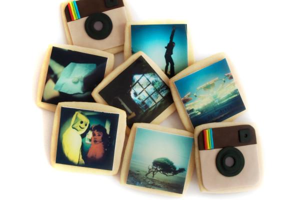 Instagram photo gifts: Custom Instagram cookies   cool mom tech