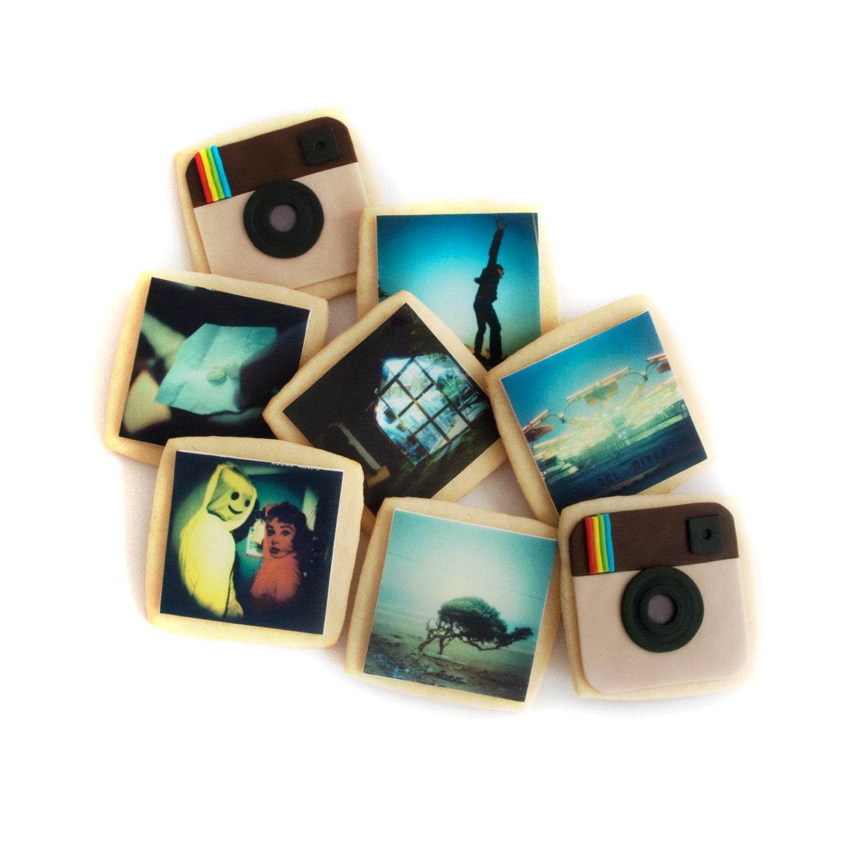 Instagram photo gifts get tasty with custom cookies