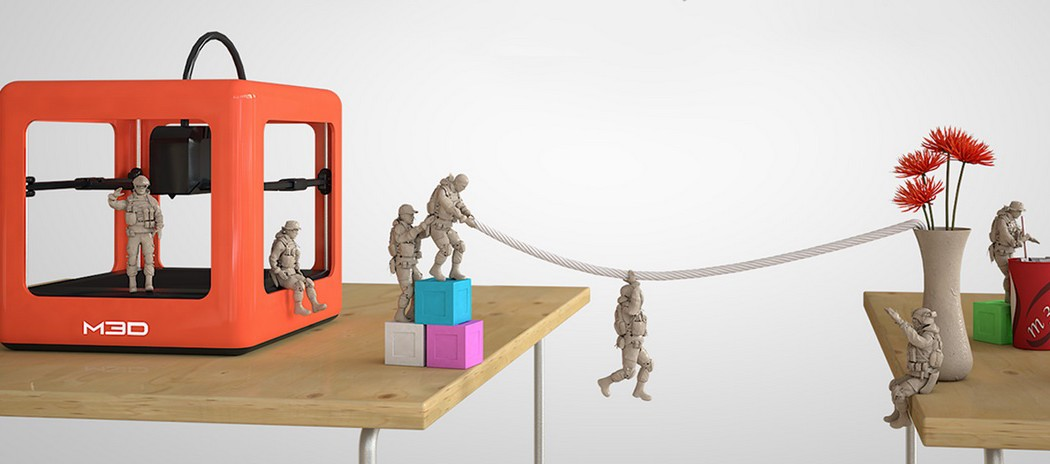 The Micro 3D Printer Kickstarter campaign | Cool Mom Tech