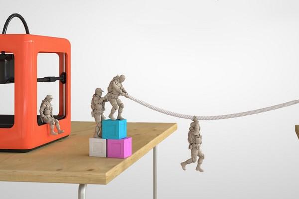 The Micro 3D Printer Kickstarter campaign | Cool Mom Tech