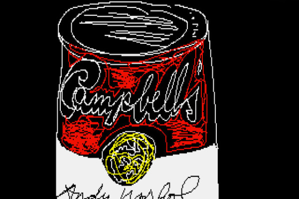 Lost Andy Warhol found on Floppy Disk | Cool Mom Tech