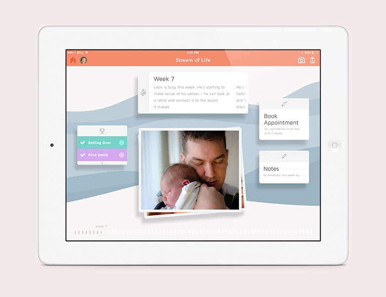 Cool newborn app Baby Bundle does everything for new parents but change diapers.