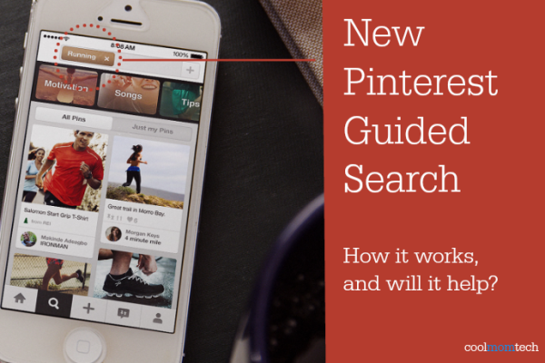New Pinterest guided search and how to use | Cool Mom Tech