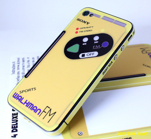 Sony Walkman iPhone Decal | cool mom tech