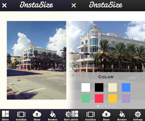How to resize a photo for Instagram? Use Instasize.