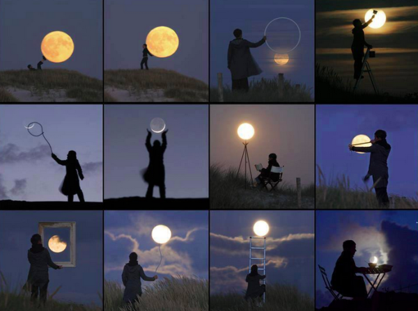 Images of the Moon by Laurent Laveder | Cool Mom Tech