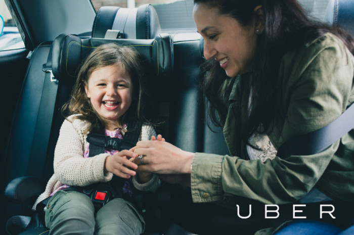 Uber: New uberFAMILY car seat service