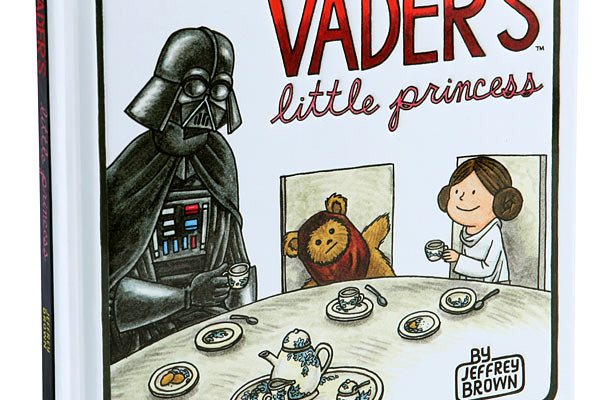 Vader's Little Princess book at Think Geek