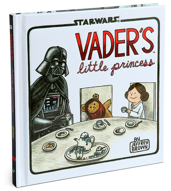 Vader's Little Princess book at Think Geek