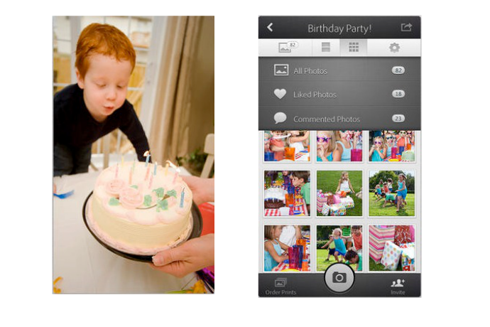 Adobe GroupPix: A brilliant, simple way to gather, store, and share photos from a party, vacation or, um, Mother's Day brunch?