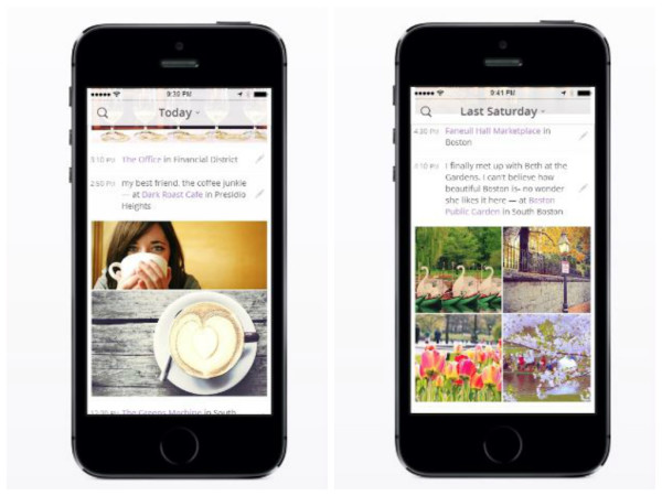Heyday app for journaling makes photo collages for you