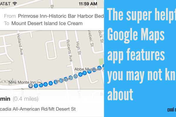 The super helpful Google Maps app features you may not know about