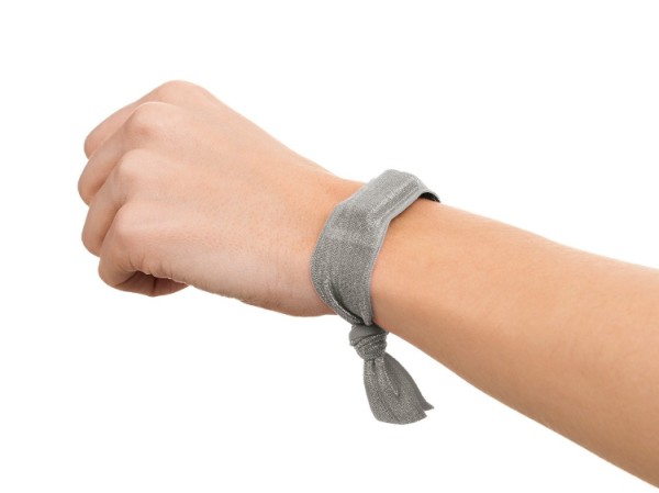 ribbon wristband for wearable fitness trackers via Griffin