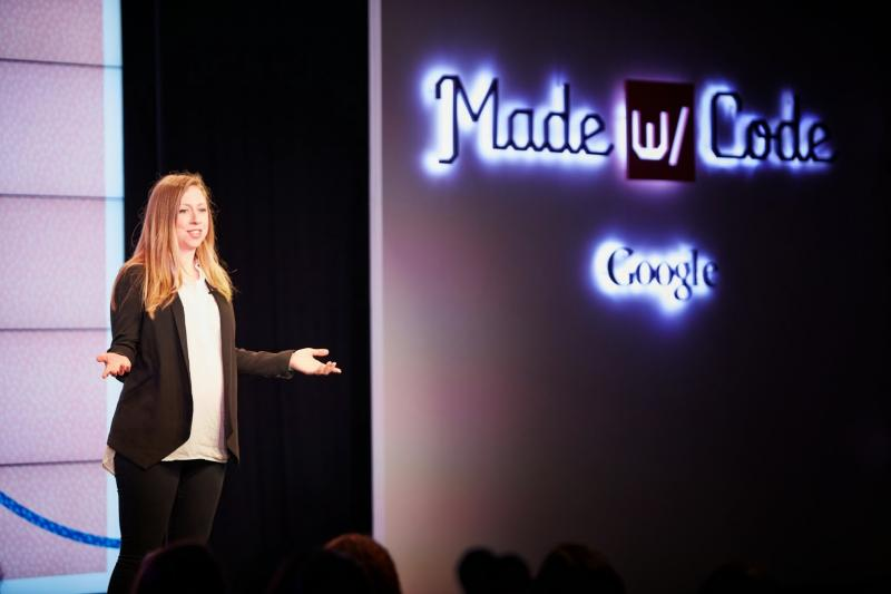 Google's Made with Code: Watch our girls take over the world. (Then watch Icona Pop.)