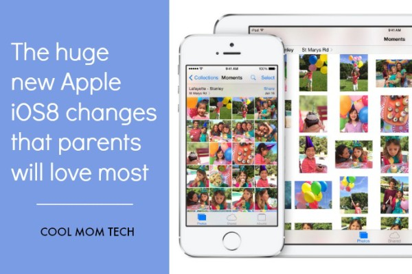 Top new iOS8 features that parents will love: Cool Mom Tech