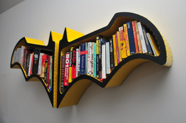 Batman Bookshelf on Cool Mom Tech