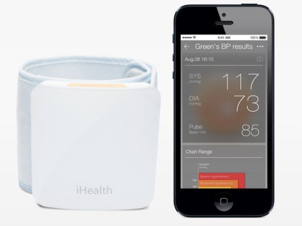 Wearable wrist blood pressure monitor by iHealth | Cool Mom Tech