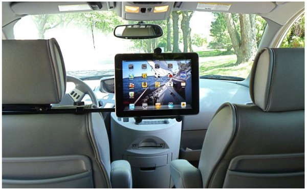 GripDaddy headrest mount for tablets | Cool Mom Tech