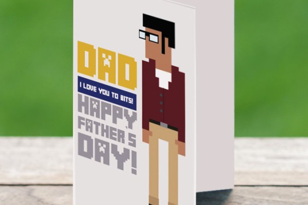 Printable Father's Day card by Markologie | Cool Mom Picks