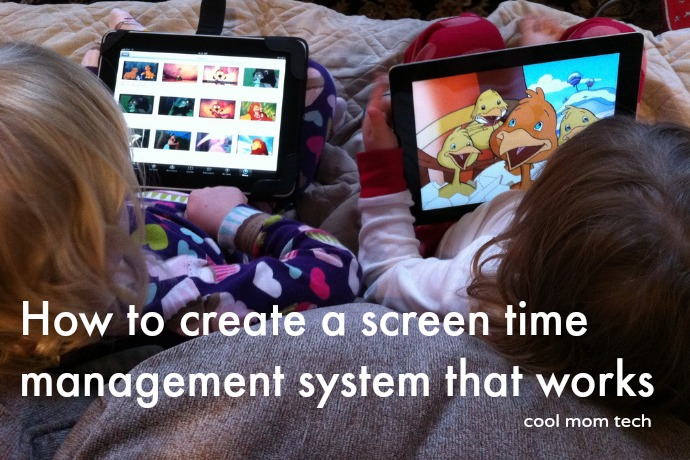 How to manage screen time for kids in a way that really works | Cool Mom Tech