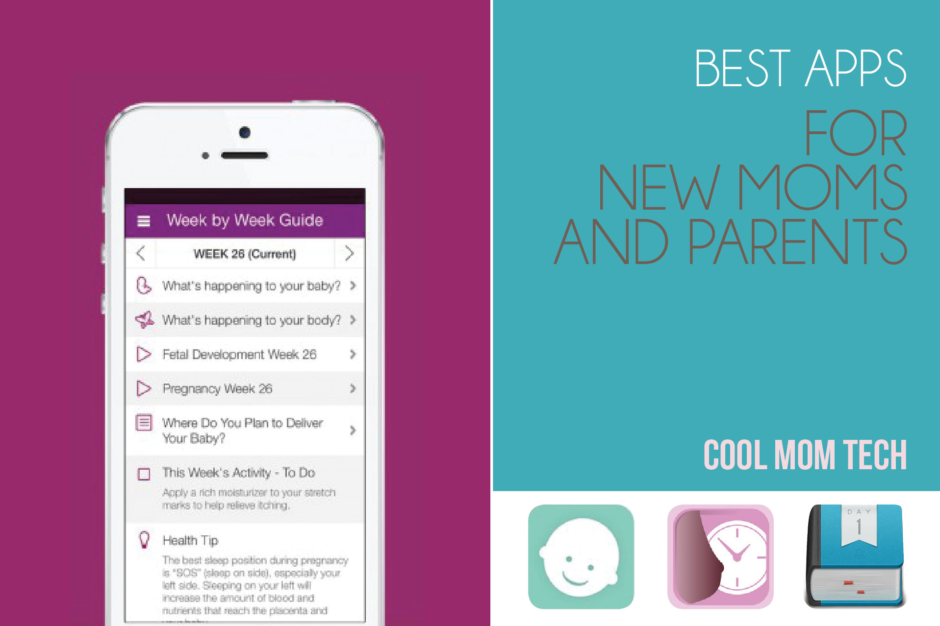 10 of the best apps for new moms and parents