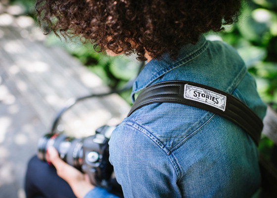 ONA camera strap supports charity:water |coolmomtech.com