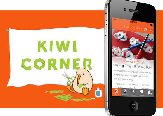 Kiwi Corner app for kids | Cool Mom Tech