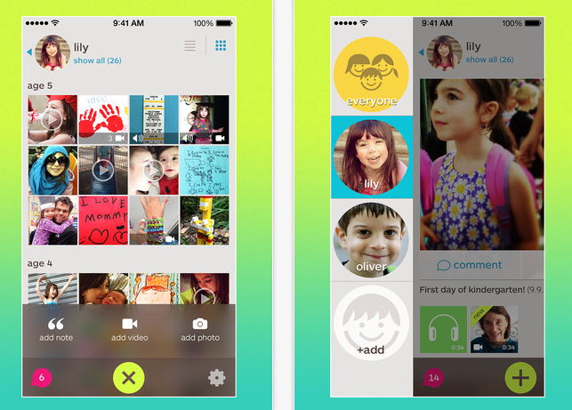 The Keepy scrapbook app: Part Facebook, part interactive scrapbook, and all organizational lifesaver
