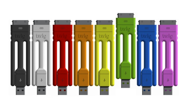 Twig makes charger cables ultra-portable (and bendy)