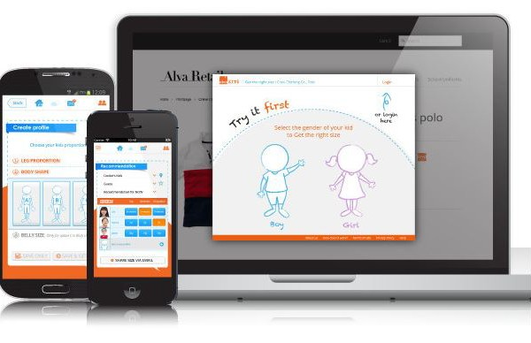 AlvaKids app helps parents figure out which kids' size clothing to buy online | coolmomtech.com